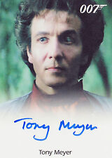 James Bond 50th Anniversary Series 2 Autograph Tony Meyer