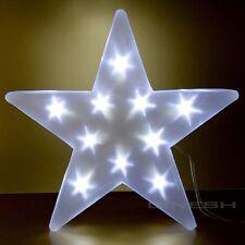 LED 3d Hologramm Effekt Stern Ø 30 Cm Batteriebetrieb Weihnachtsstern