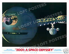 2001: A SPACE ODYSSEY LOBBY SCENE CARD # 8 POSTER 1968 DISCOVERY ONE