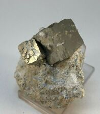PIRITA - Pyrite - Navajun, La Rioja España - SPAIN MINERAL COLECCION 7x6x3