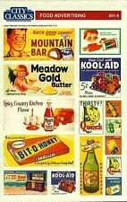 City Classics-HO Scale -- #501-08 – Food Advertising