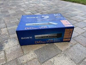NEW SEALED Sony SLV-D560P DVD VCR Combo Player VHS Recorder w Remote Cables Tape