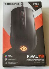 STEELSERIES Rival 110 Competitive Gaming Mouse 7200 CPI