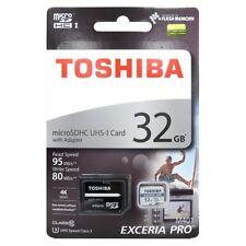 Toshiba 32gb Exceria Pro microSDXC With Adapter