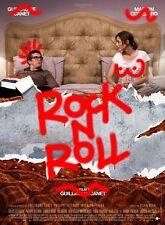Affiche Pliée 40x60cm ROCK'N ROLL (2017) Guillaume Canet, Marion Cotillard NEUVE