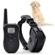 Collar de Adiestramiento Electrico Sonido Antiladridos Canino para Perro Trainer
