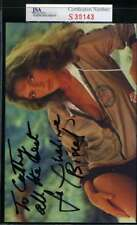 JACQUELINE BISSET JSA CERT HAND SIGNED PHOTO AUTHENTIC AUTOGRAPH