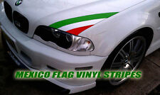 Mexico flag Car hood Vinyl Sticker. Decal Gobierno Mex. Eagle MICH Michoacan