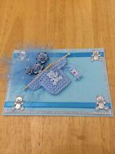 Topper de tarjeta de bebé 3D
