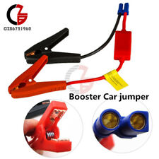 Connector Booster Jumper Cable Alligator Clamp Battery 12V/24V Car Jump Starter