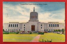 OREGON - SALEM, OREGON STATE CAPITOL BUILDING POSTCARD 294