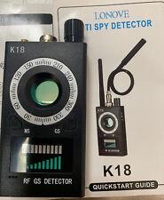 Camera Detector, Lonove Anti Spy Rf Signal Wireless Gps Read Description