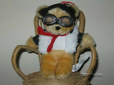 Dutch Teddy Bear With Goggles Motor Devil By Kors bv