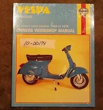 SCOOTER VESPA 90, 125, 150, 180 E 200cc Owner's MANUALE D'OFFICINA 1988