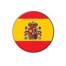 Spain Spanish Flag - Metal Tie Tack Hat Lapel Pin Pinback