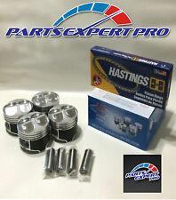 YCP 81.5MM HIGH COMPRESSION PISTONS & RING ACURA INTEGRA CIVIC SI TYPE R B16 B18