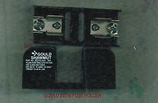 GOULD 20316 FUSE HOLDER 250 VOLT 30 AMP 20316 FUSE BLOCK