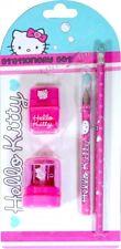 Hello Kitty 'Bulle 'Ensemble Écriture École Filles Papeterie Neuf - Cadeau