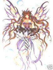 Beautiful Purple/Lilac Fairy And Bubbles Sticker