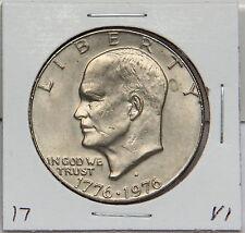 1976 D Eisenhower Dollar Coin - Ike - Variety 1 or Type 1 Denver