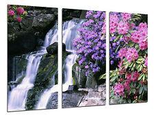 Cuadro Moderno Fotografico Paisaje Cascada Rio Atardecer, 97 x 62 cm ref. 26301