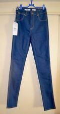 High Waist Polyester Regular Slim, Skinny Jeans for Women