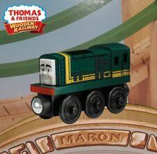 THOMAS & FRIENDS WOODEN RAILWAY PAXTON Y5025 RARE BLACK WHEELS NEW IN BOX