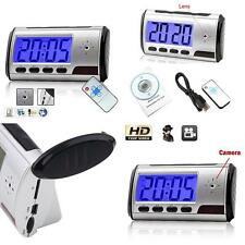 Mini Digital USB Alarm Clock Video DVR Hidden/SPY/Nanny Camera DV 1280x960 Great