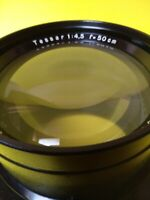 Vintage Large Carl Zeiss Jena Tessar f/4,5 500mm for Large format Repro-camera