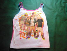 Girl's Junior Size 7 - 8 1D One Direction Tank Pajama Top