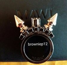Mawi London Double Spike and Solitare Statement Ring