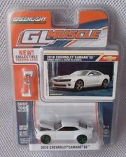 2010 CHEVY CAMARO SS 2011 GREENLIGHT MUSCLE Ser. 2 Green Machine CHASE #58 of 80