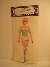 Betty Grable Celebrity Paper Dolls