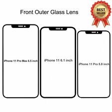 Front Broken Replacement Screen Touch Glass Lens For Apple iPhone 11 Pro Max 11