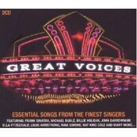 GREAT VOICES-THE FINEST SINGERS 2 CD NEW!