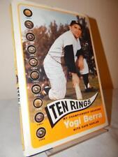 TEN RINGS My Championship Seasons Yogi Berra HC/DJ 2003 New York Yankees 1st/1st