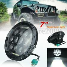 7Inch 75W LED Headlight H4 H13 DRL Hi/Lo Beam For JEEP CJ JK TJ Wrangler Harley