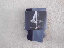 Simply Vera Vera Wang Soft Stretch Colorblock Leggings Small Grey Black NWT