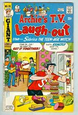 Archie Giant Series #20 August 1973 VG T.V. Laugh-Out Sabrina