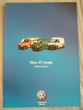 VW LT range brochure c1998? Australian market LT46 LWB, LT35 MWB