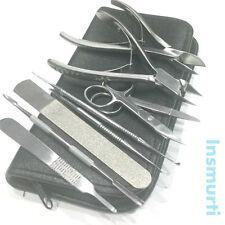 Professional Manicure Nail Finger/Toe Nail Nipper Clipper Scissor Ingrown Set CE