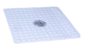 Clear Anti Slip Square Shower Mat    54cm x 54cm
