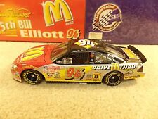 New 2000 Action 1:24 Diecast NASCAR Bill Elliott McDonalds 25th Anniversary #94