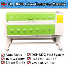 Reci 100w W4 Laser Cutter Engraving Machine Xy Linear Guidecw 5200 Chiller