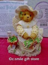 Cherished Teddies *ANNA MARIE* #107021 Angels Sow Graceful Series Enesco MIB Ret