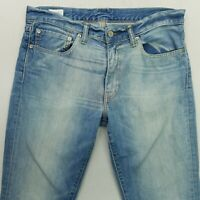 Levi's 511 Mens  Jeans W34 L31 Blue SLIM Straight