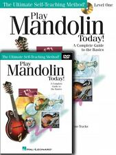 Play Mandolin Today Beginner's Pack Level 1 Book CD DVD Pack Instructi 000701874