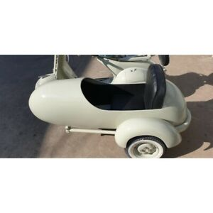 Sidecar SX Wideframe V1 V15 V30 V33 Grey Piaggio Vespa 125 Acma 1951-1955