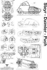 Steyr Daimler Puch Fahrzeuge Feinmechanik 3450 Seiten