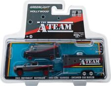 "The A-Team"" Tv Series Set Hollywood Hitch & Tow 5 1/64 By Greenlight 31060 B"